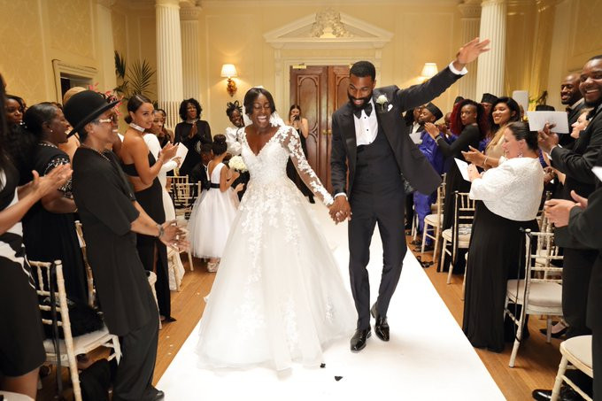BBNaija's Mike Edwards and wife Perri Shakes-Drayton celebrate 1st wedding anniversary