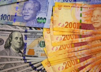South Africa's rand climbs to 8 week high against dollar