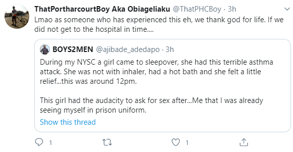Nigerian men narrate scary encounters with women who slept over at their houses and almost died during sex