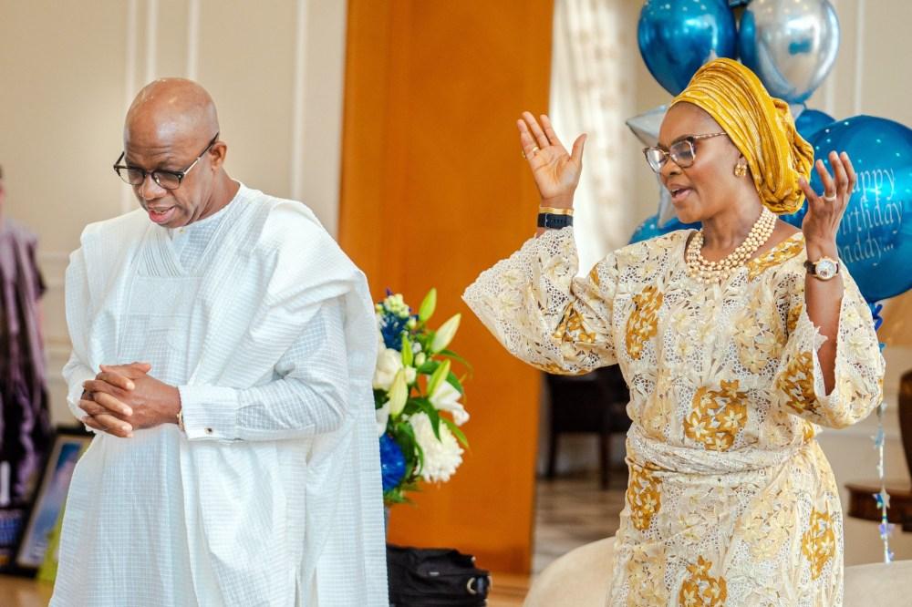 VP Yemi Osinbajo, Dangote, Pastor Adeboye, others attend virtual 60th birthday thanksgiving service of Ogun state governor, Dapo Abiodun (photos)