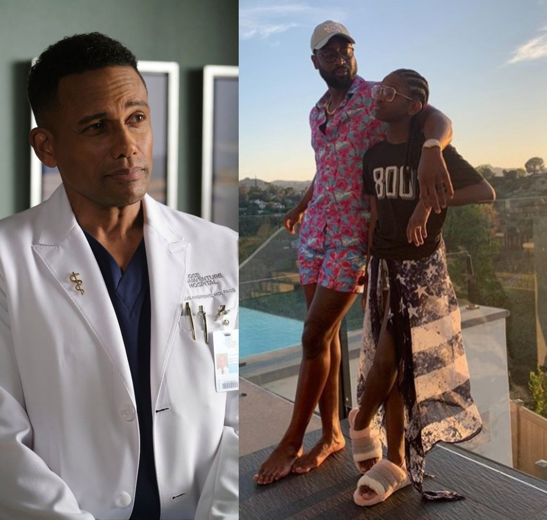 """Actor Hill Harper apologizes after he was slammed for referring to Dwyane Wade's transgender child as """"young man"""""""