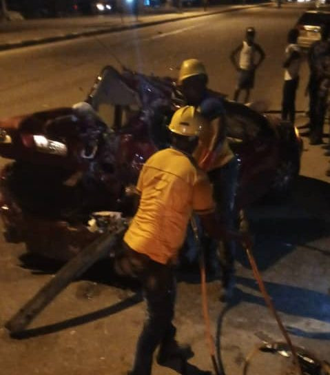 One dead, two injured in Lagos accident