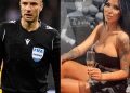 Champions League referee, Slavko Vincic reacts after he was arrested during prostitution and drug raid