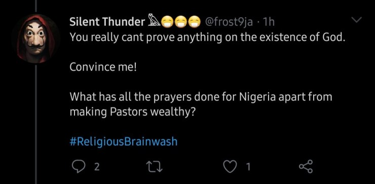 """Dragging God"" trends as Nigerians take to Twitter to blame God for the ills in the country  ""Dragging God"" trends as Nigerians take to Twitter to blame God for the ills in the country 5ed4a84745cc8"
