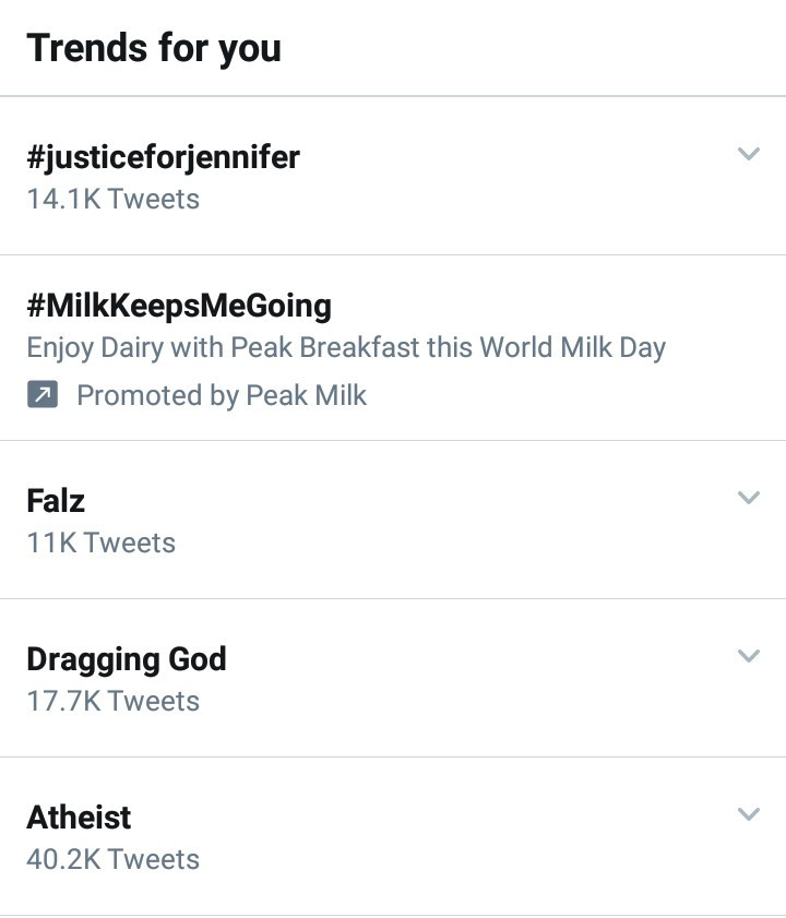 """""""Dragging God"""" trends as Nigerians take to Twitter to blame God for the ills in the country"""