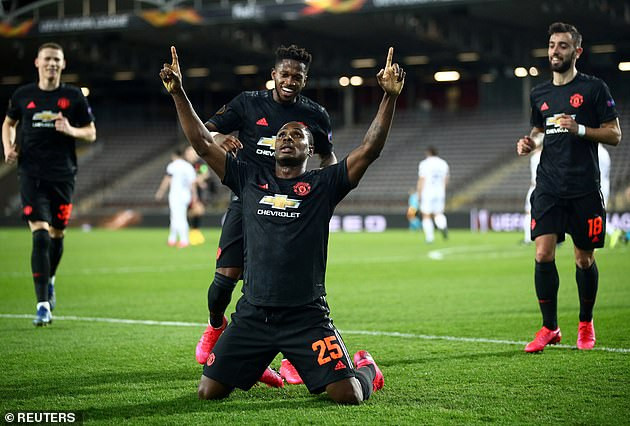 Finally! Manchester United officially confirm Odion Ighalo