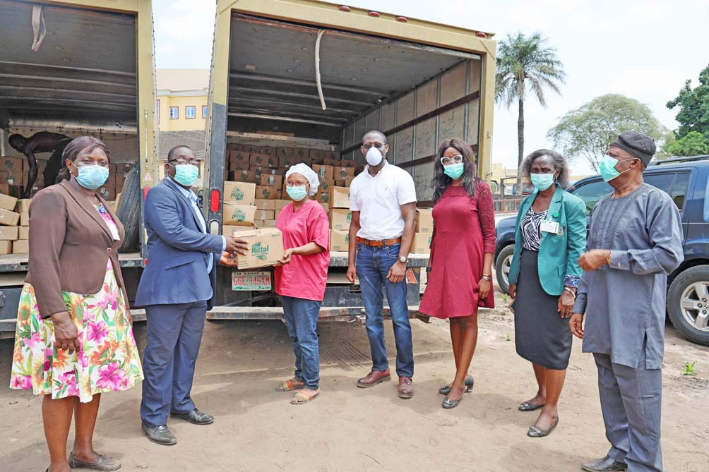 COVID-19 Response: Henkel Expand Global Industries, Donates Nittol Antibacterial Detergent to Front-liners in Lagos State