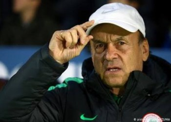 'Nobody can tell me who to select' Defiant Super Eagles coach Gernot Rohr says