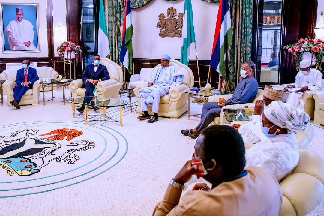 Akinwumi Adesina meets Buhari amid AfDB crisis (photos)