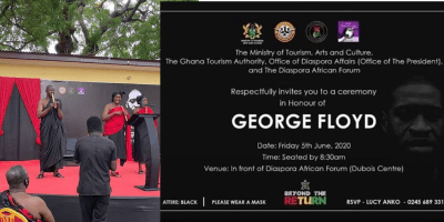Ghanaian Government holds funeral service for George Floyd