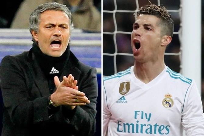 Cristiano Ronaldo was ?on verge of tears? after Mourinho exploded at him and players ?had to stop them from fighting