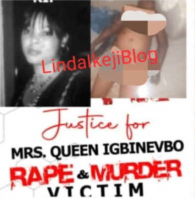 Protest Erupts As Pregnant Wife Of Edo Politician Is Raped And Murdered