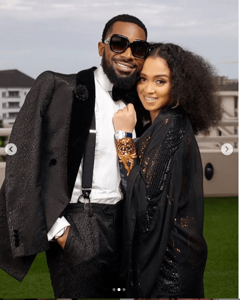 5ee65e0c1c3f9 'You are the best and have been nothing but a blessing' - D'banj praises wife Didi Lineo as he shares beautiful photos of them