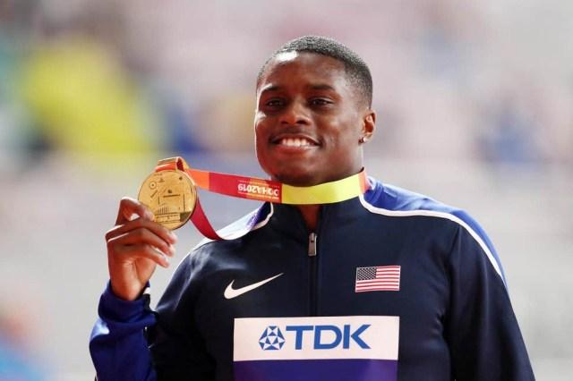 Le champion du monde du 100m, Christian Coleman suspendu pour avoir raté trois tests de dépistage de drogues en un an