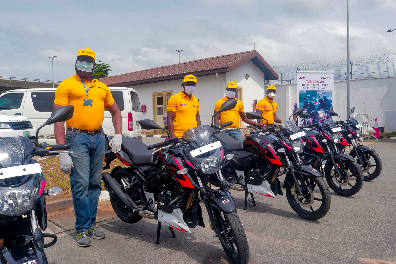 Simba TVS joins the Lagos State Government in its efforts to boost security