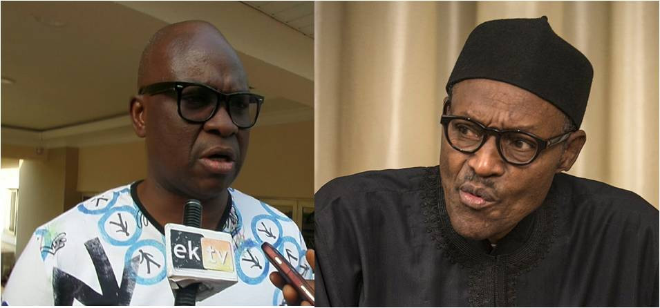 Buhari cannot manage his immediate family, let alone his party and Nigeria ? Fayose