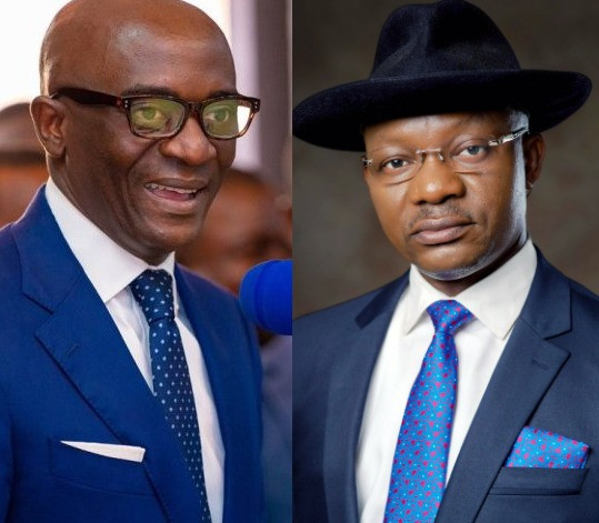 Secretary to the Government of Delta state, Chiedu Ebie and the state Commissioner for Information, Charles Aniagwu, test positive for Coronavirus