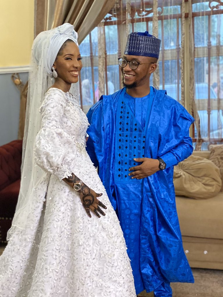 Nigerian couple marry after meeting on Twitter 18 months ago