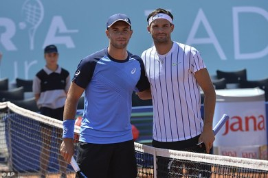 Grigor Dimitrov and Borna Coric test positive for COVID-19