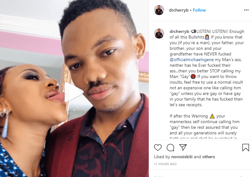 Stop calling my man gay -  Ex Ultimate Love guest, Dr Cherry Osigwe tells haters