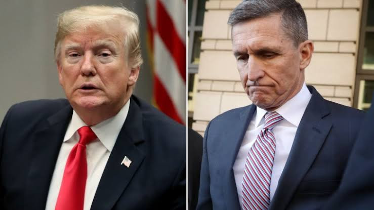 """""""Are Democrats, Obama and Biden going to apologize?"""" - Trump reacts after appeals court orders judge to dismiss criminal case against his former adviser Michael Flynn"""