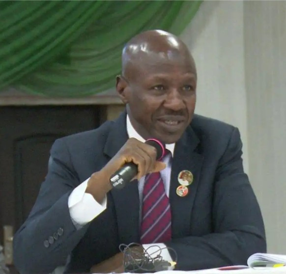 We?ll go after looters hiding in Ghana- EFCC boss, Ibrahim Magu says