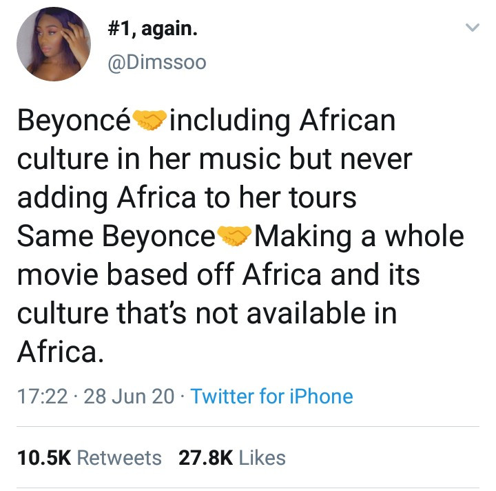 Nigerian model calls out Beyonce for