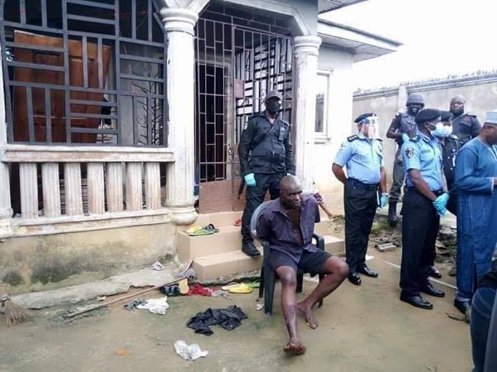 Shoe dealer who kidnaps and kills his suppliers arrested in Rivers state (graphic photos)