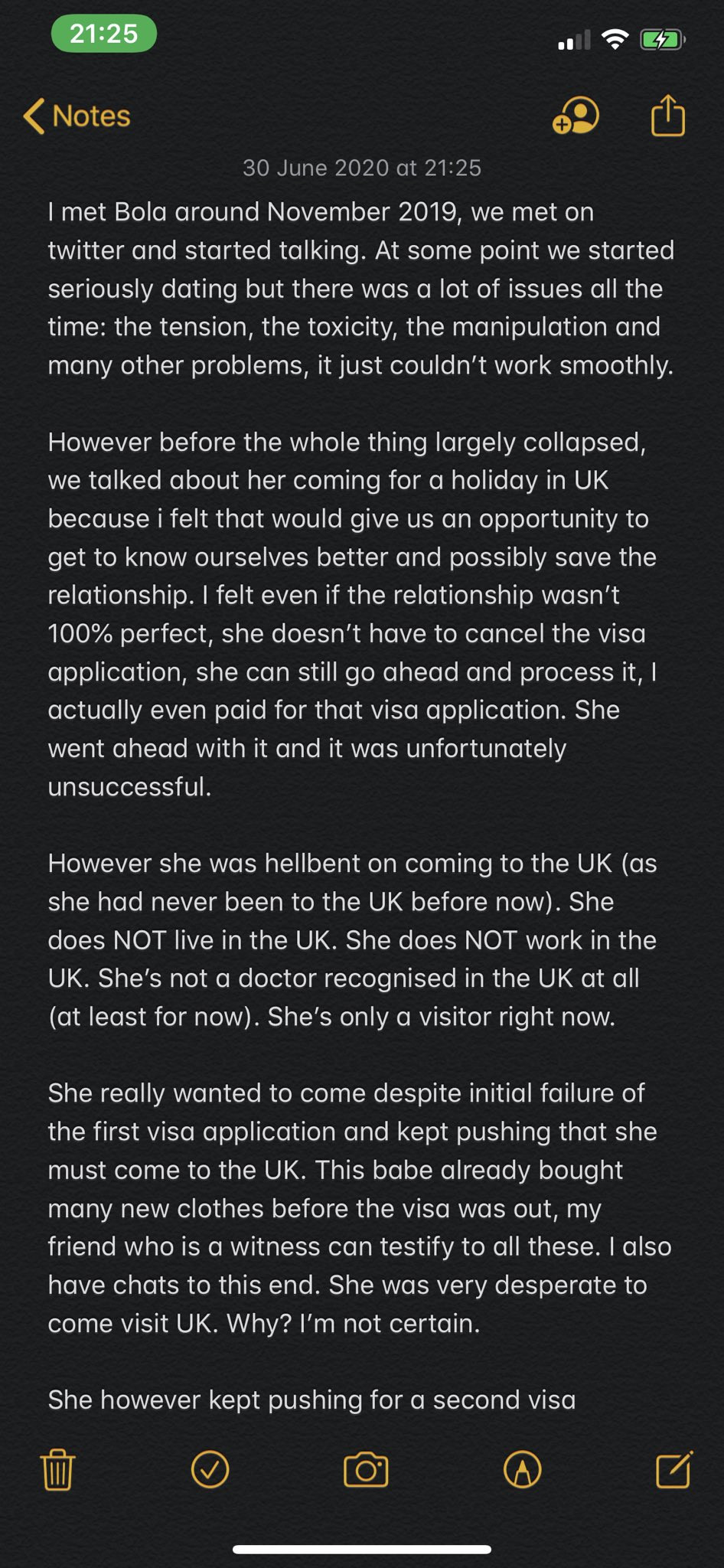 She threatened to blackmail me after traveling from Nigeria to UK to see me - Popular Twitter influencer, Dr Olufunmilayo reacts to sexual abuse allegation
