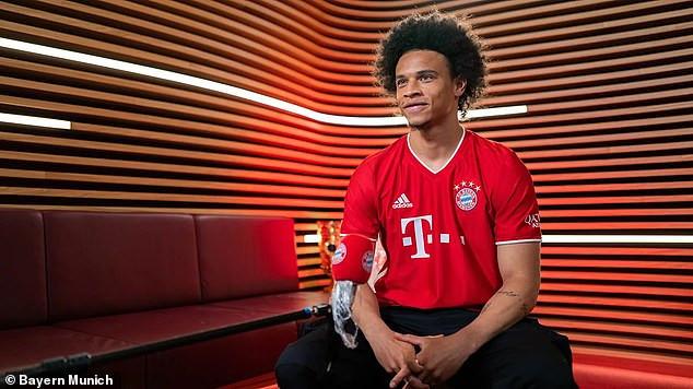 Le Bayern Munich confirme officiellement la signature de 55 millions d'euros de Leroy Sane de Manchester City pour un contrat de cinq ans