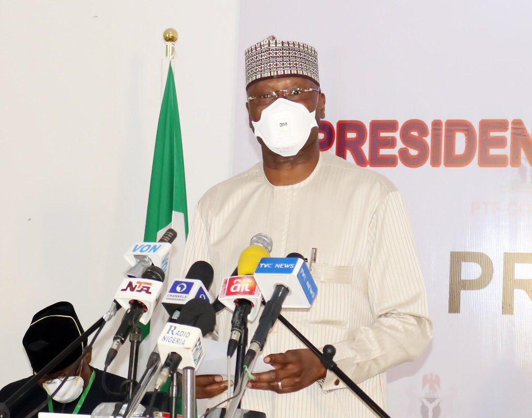 Nigerians are exhibiting reckless confidence in the wake of Coronavirus pandemic ? SGF Boss Mustapha