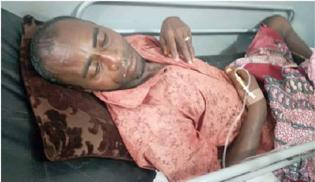 My wife has finished my life - Taraba man whose pregnant wife cut off his penis cries from his hospital bed