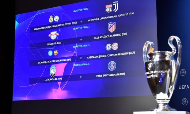 Champions League draw: Quarter-final and semi-final ties have been revealed
