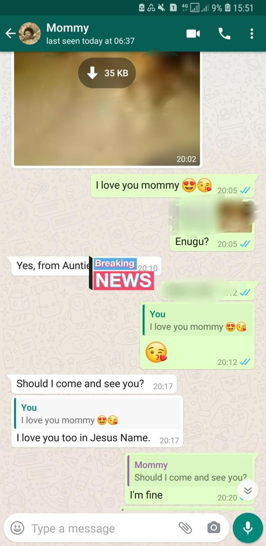 Nigerians share their parents