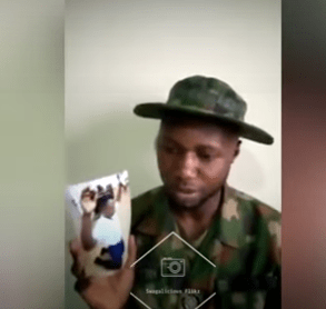 """""""While I was his orderly, he used to maltreat me and treated me as a slave"""" Naval officer cries out and accuses Rear Admiral I.O Mohammed of maltreatment (video)"""