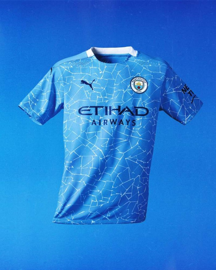 Man City unveil new 2020-21 home jerseys inspired by ...