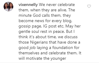 Rita Dominic replies follower who had issues with her not celebrating Nigeria