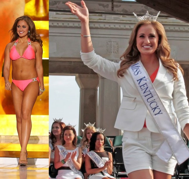 Married teacher and ex-Miss Kentucky jailed for sending naked photos of herself to her 15-year -old student (Photos)