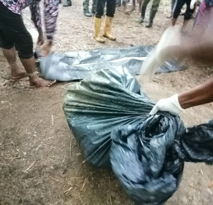 Suspected cultists bury police informants alive in Rivers (photos)