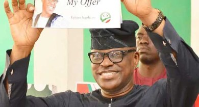 Eyitayo Jegede wins Ondo PDP governorship primary as state deputy governor loses out