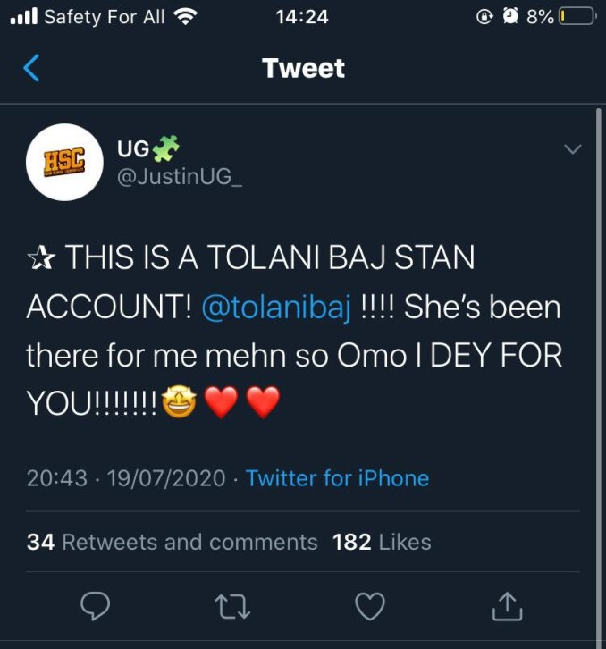 #BBNaija - Who is Tolani Baj?