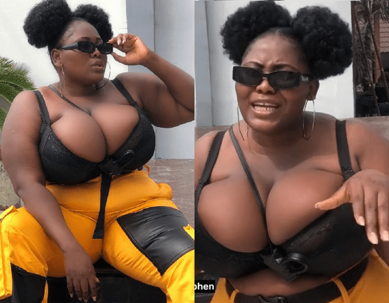 https://bluebloodz.com/index.php/2020/07/24/plus--size-model-puts-her-massive-boobs-on-display-[-see-photos-]/