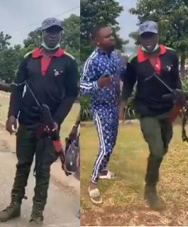 Update: Police arrest officer who allegedly shot couple?s car in Lagos