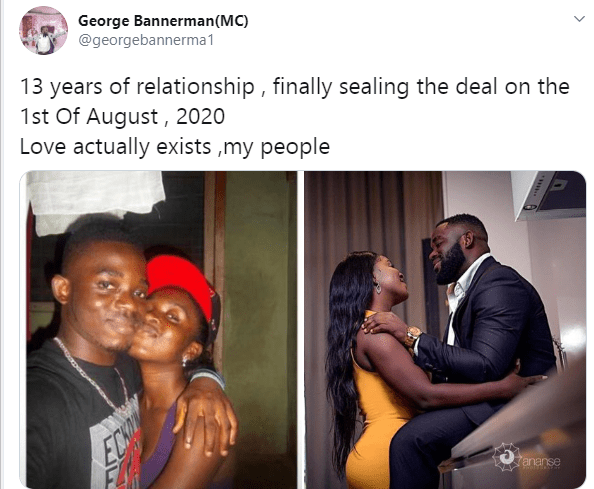 Nigerian couple to get married after 13 years of dating