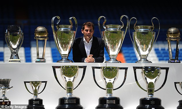 Legendary Spain and Real Madrid keeper, Iker Casillas announces his retirement from football 14 months after suffering a heart attack