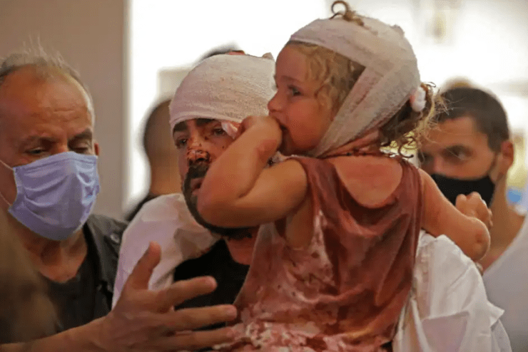 Lebanon blast was caused by welder as death toll passes 100