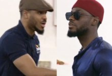 """Photo of #BBNaija: """"Shut up your mouth:"""" Ozo clashes with Prince during their drama practice (video)"""