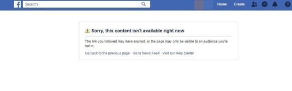 Facebook deletes Donald Trump