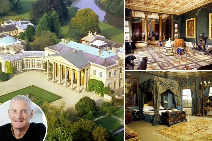 5f2fc66c3220d Inside billionaire Sir James Dyson's massive country pad that is big enough to fit nearly 18,000 homes (photos)
