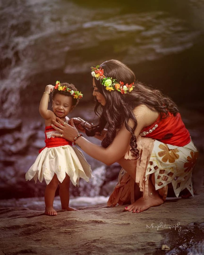 TBoss shares beautiful photos of herself and her daughter who turns one today